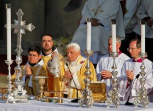 Mass with Benedict XVI USA