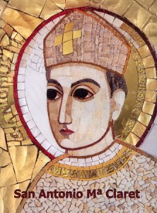 Mosaic of Anthony Claret Rupnik