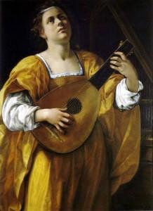 Artemisia Gentileschi Santa Cecilia