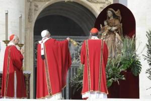 Francis and cardinal deacons 2013