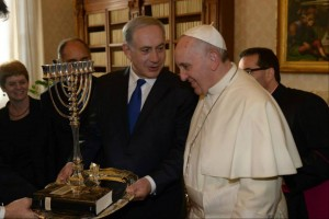 Benjamin Netanyahu and Pope Francis Dec 2 2013