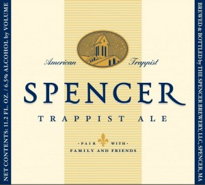 Spencer Trappist Ale label