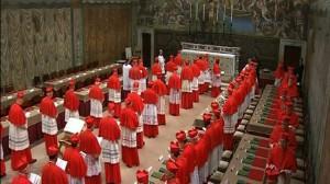 Cardinals Sistine Chapel