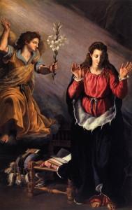 Annunciation AAllori 1603