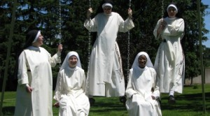 OP nuns having fun