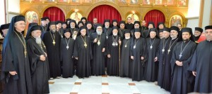 Melkite Synod 2014 meeting with Patriarch John