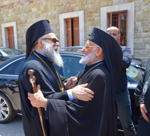 Orthodox and Catholic Patriarchs 2014