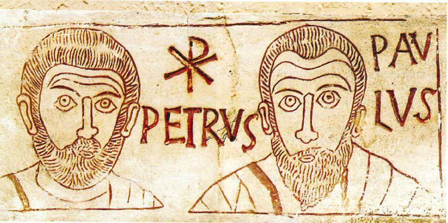Symbols Of Unity And Peace Peter And Paul Communio