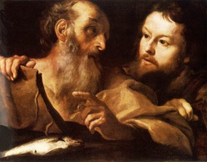 Sts Andrew and Thomas Bernini 1627