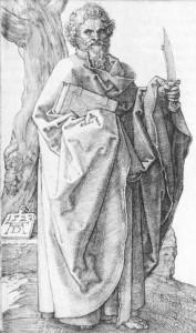 St Batholomew Durer