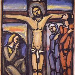 Crucifixion Georges Rouault