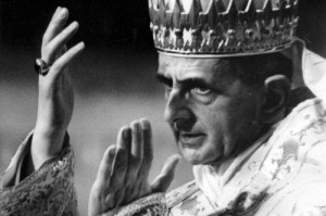 Paul VI with tiara