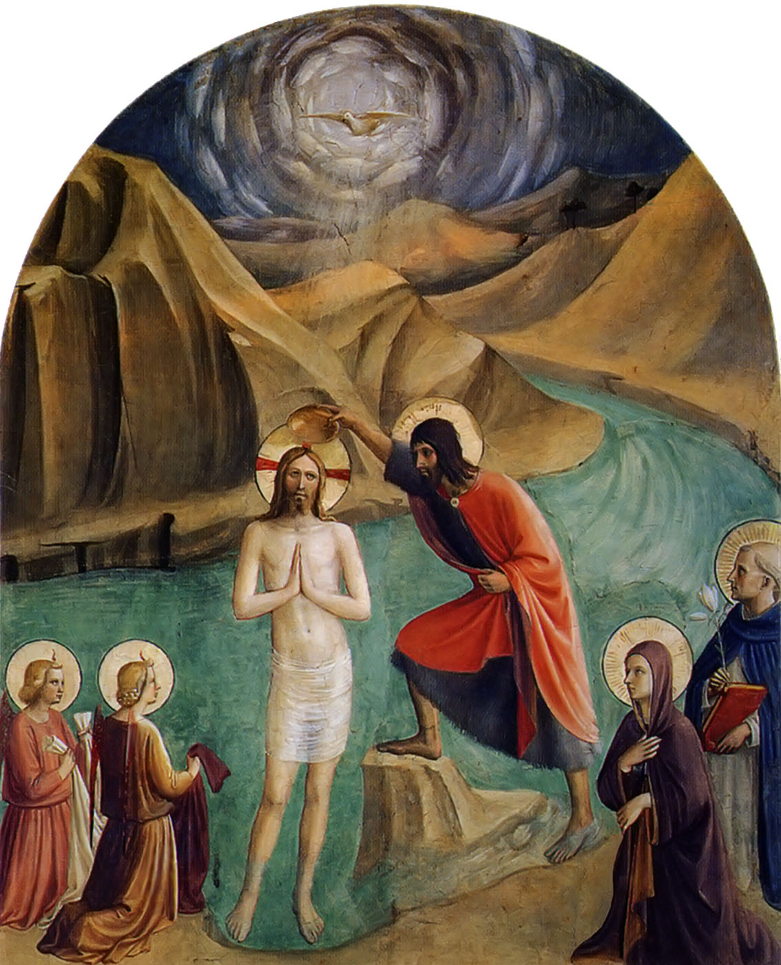 Image result for baptism of the lord Fra Angelico