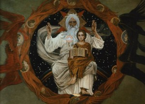 Holy Trinity of God, by Viktor Vasnetsov