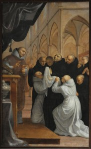 Death of St Benedict