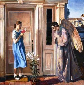 John Collier Annunciation