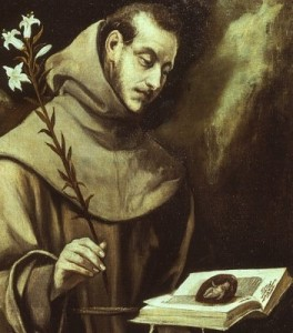 St Anthony El Greco