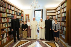 Francis and Benedict et al June 30 2015
