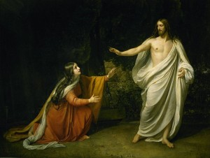 Mary Magdalene and the Risen Lord