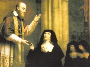 Jane Frances and Francis de Sales