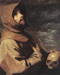 St Francis FZurbaran