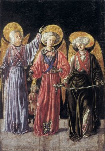 Master of Pratovecchio Three Archangels
