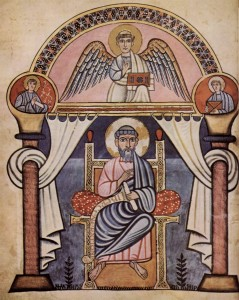 Saint Matthew from Canterbury Codex Aureus