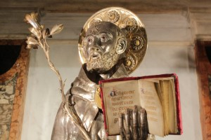 St Dominic Statue
