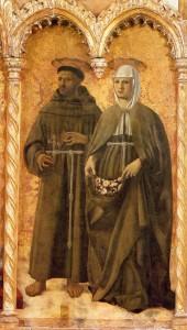 Sts Francis and Elizabeth Piero della Francesca