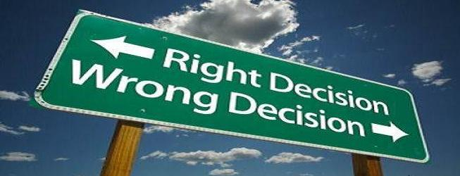 describe the relationship of conscious decisions and movements