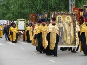 Cyril and Methodius procession