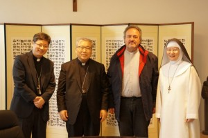 Korean Cardinal and Camaldolese
