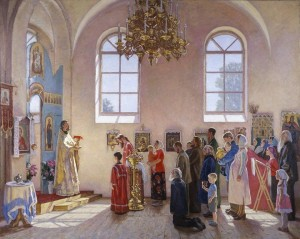 communion byzantine