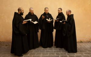Norcia monks chanting
