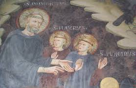 Sts Benedict, Maurus and Placid