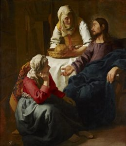 Johannes Vermeer Christ_in_the_House of Martha and Mary