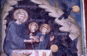 Sts Benedict, Placid and Maurus
