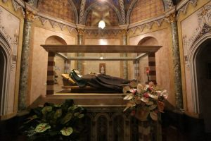 St Clare of Assisi relic