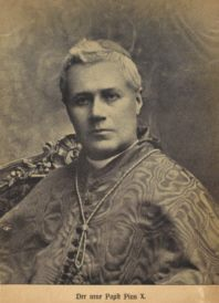 St Pius X as cardinal