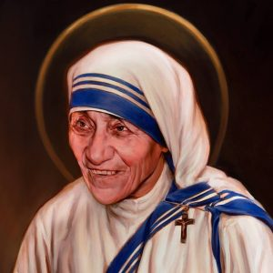 St Teresa of Calcutta KofC canonization portrait 2016