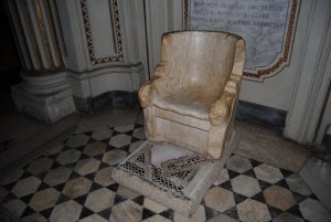 Throne of Pope Saint Gregory the Great