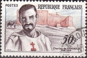 foucauld-french-stamp-1959